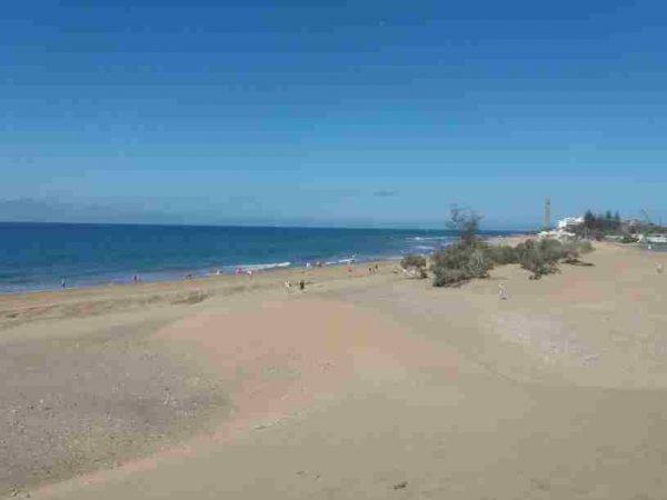 Sur de Gran Canaria playa de Maspalomas
