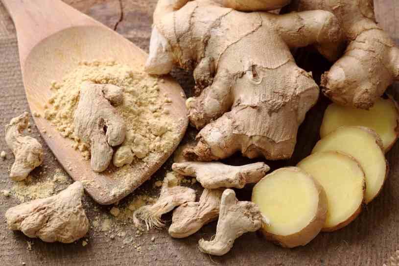 Jengibre - Hierbas Medicinales