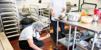 Limpieza de cocinas industriales para no perder la salud