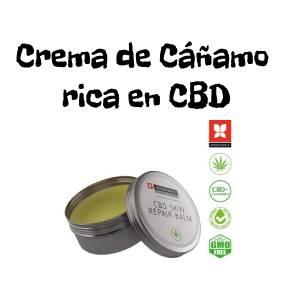 Crema de Cáñamo Rica en CBD