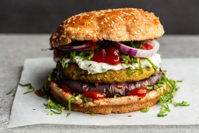 Cómo Hacer una Hamburguesa Vegetariana