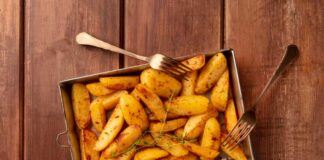 Receta de Patatas fritas con Salsa de Ajo